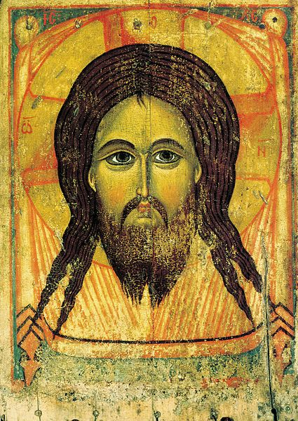 The Holy Mandylion (Image of Edessa), Yaroslavl, first half of the 13th century