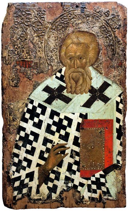 Icon of St. Methodius the Confessor, Patriarch of Constantinople