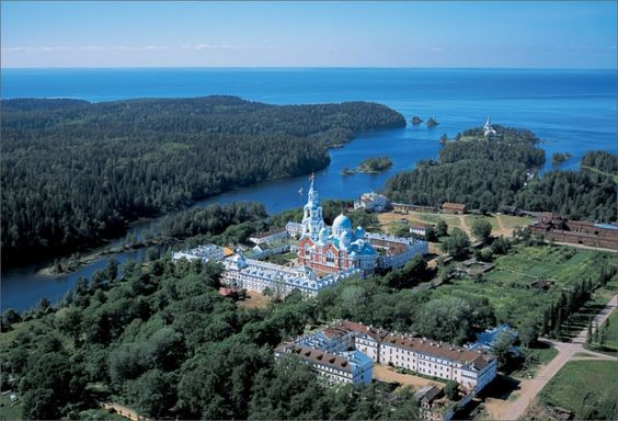 The Valaam monastery