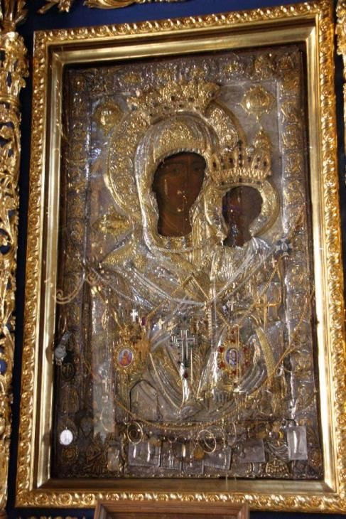 "Icon of the Mother of God ""Xenophon Hodegetria"""