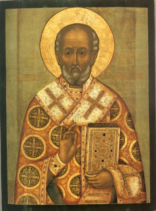 St. Nicholas icon by Fyodor Zubov
