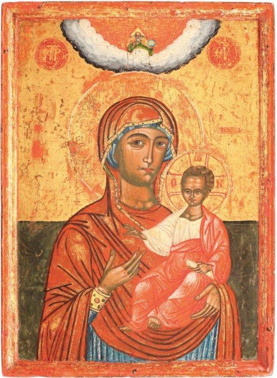 Icon of the Hodegetria Mother of God, Wallachia