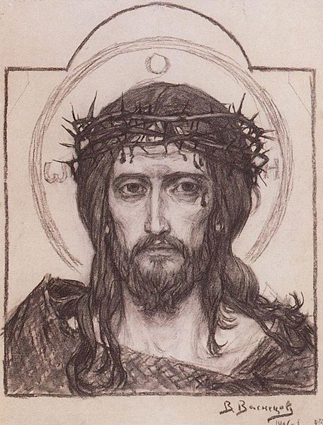 The Crown of Thorns Icon of Jesus Christ