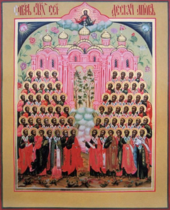 Icon of the Seventy Apostles
