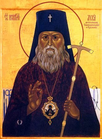 Icon of Saint Luke Bishop of Simferopol and Crimea