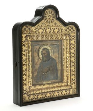 Icon of St. Seraphim (late 19th – early 20th century)