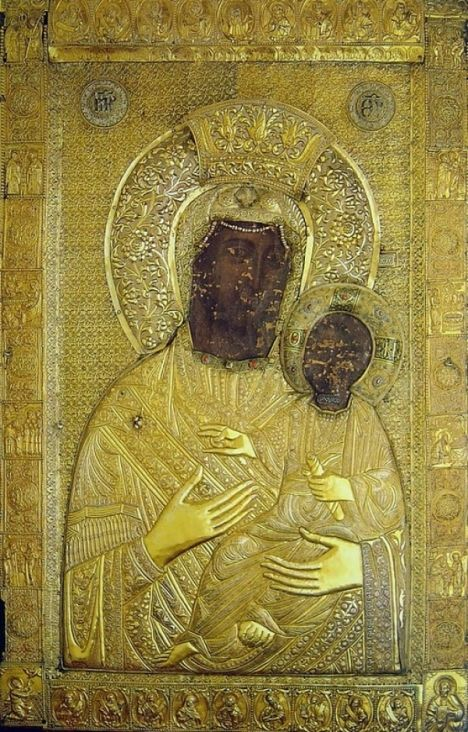 """Icon of the Mother of God """"Panagia Vimatarissa"""""""