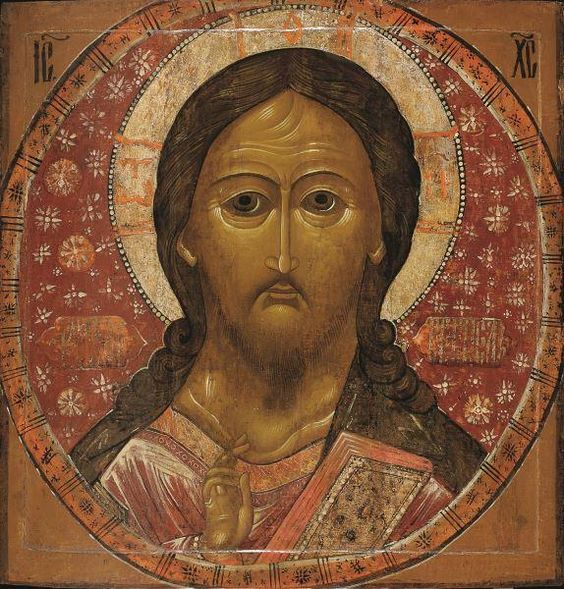 Icon of Christ Pantocrator, 17th century