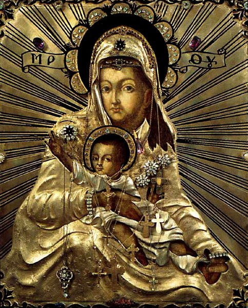 "Icon of the Mother of God ""Merciful"""