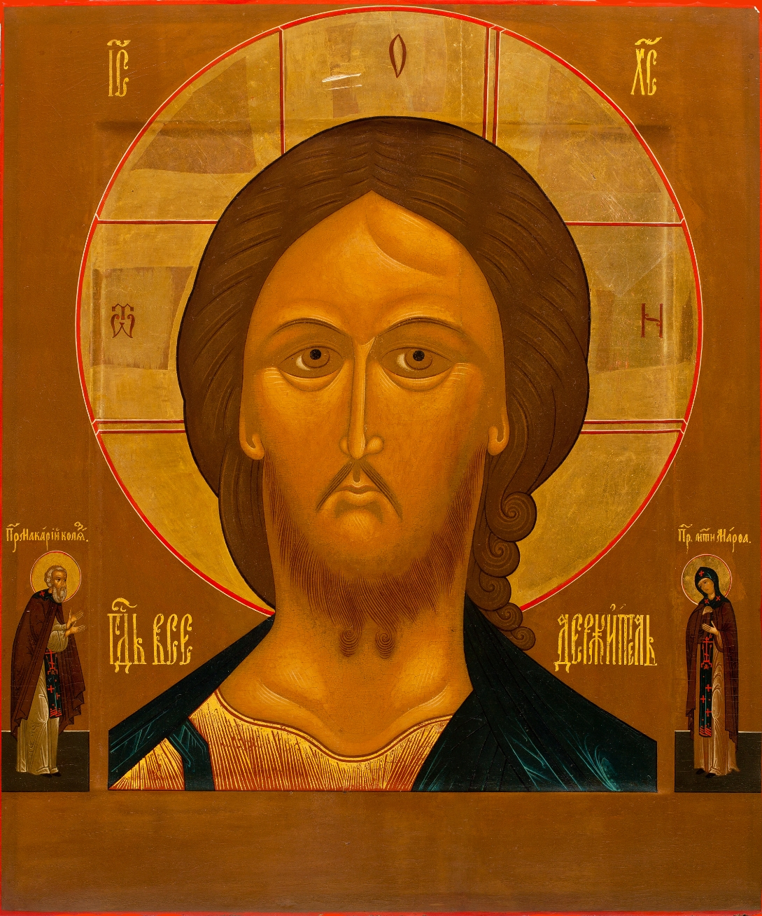 Antique Russian Icons at The Most Wonderful Art Exhibition