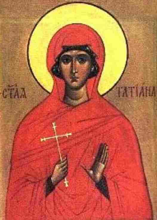 Icon of St. Tatiana of Rome, 19th century