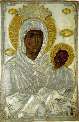 """Icon of the Mother of God """"Stabbed"""""""