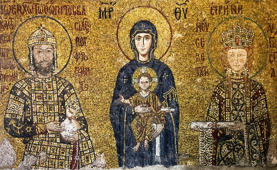 Characteristic Features of a Byzantine Icon