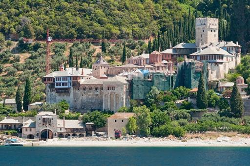 Dochiariou monastery on Mount Athos
