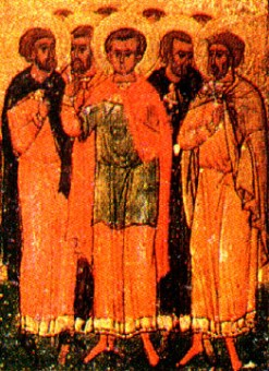 Holy Martyr Agapius and the Seven Martyrs with him