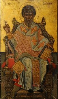 Icon of St. Spyridon of Trimythous