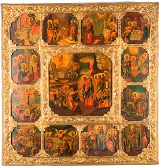 Icon of The Resurrection – The Harrowing of Hades