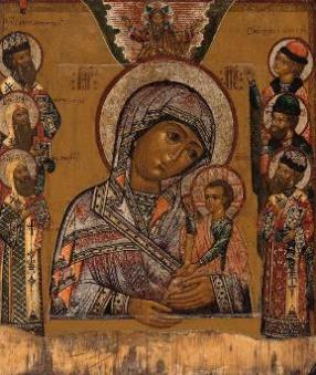 Icon of the Shuiskaya Mother of God Hodegetria