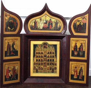 Iconostasis Annunciation and Selected Saints