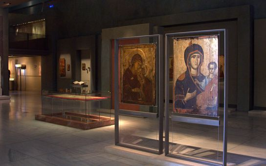 Greek Icons at the Museum of Byzantine Culture