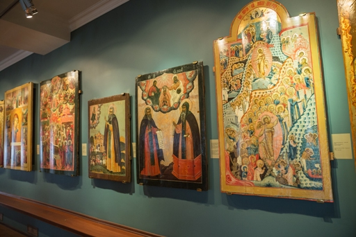 Old Russian Icons (старинные русские иконы)
