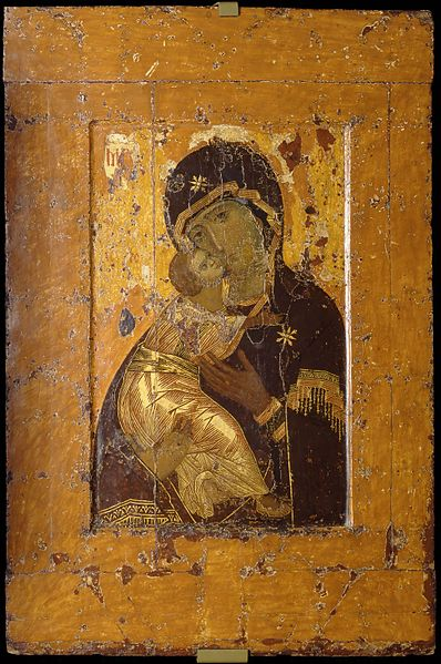 Orthodox Icon in Russia: Our Lady Of Vladimir