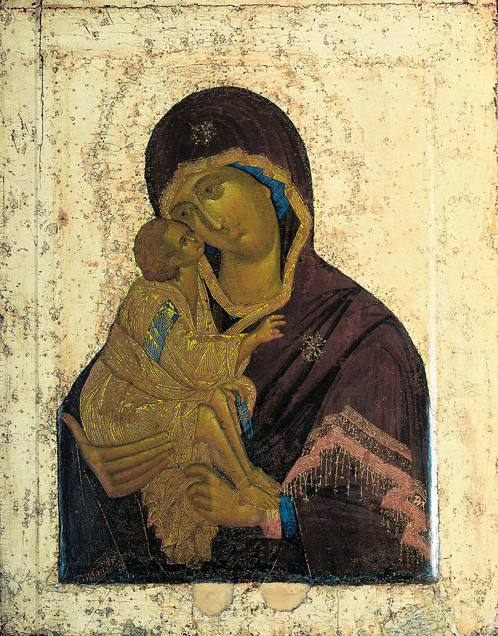 """Russian Icons of the Mother of God """"Eleusa"""""""