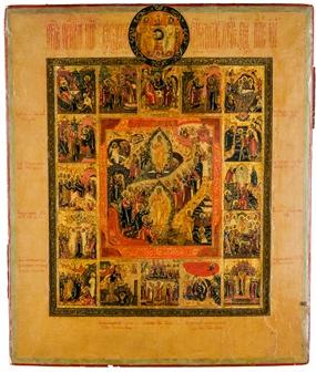 Palekh Religious Icon Art
