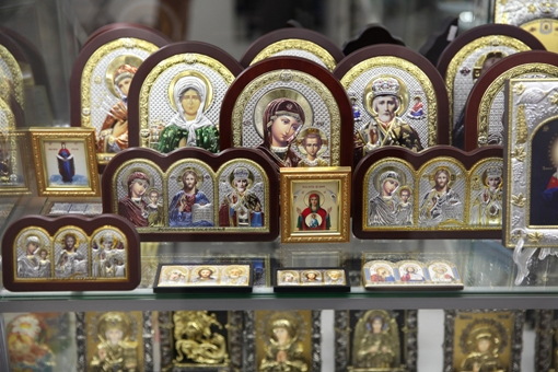 Buying Icons at a Russian Orthodox Store
