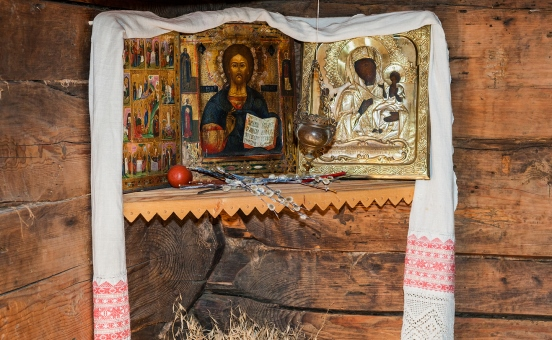How to Create a Beautiful Russian Icon Corner?|