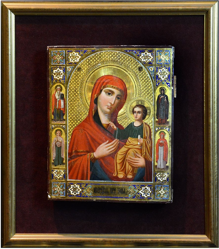 Antique Russian Icons for Sale at the Barakat Gallery