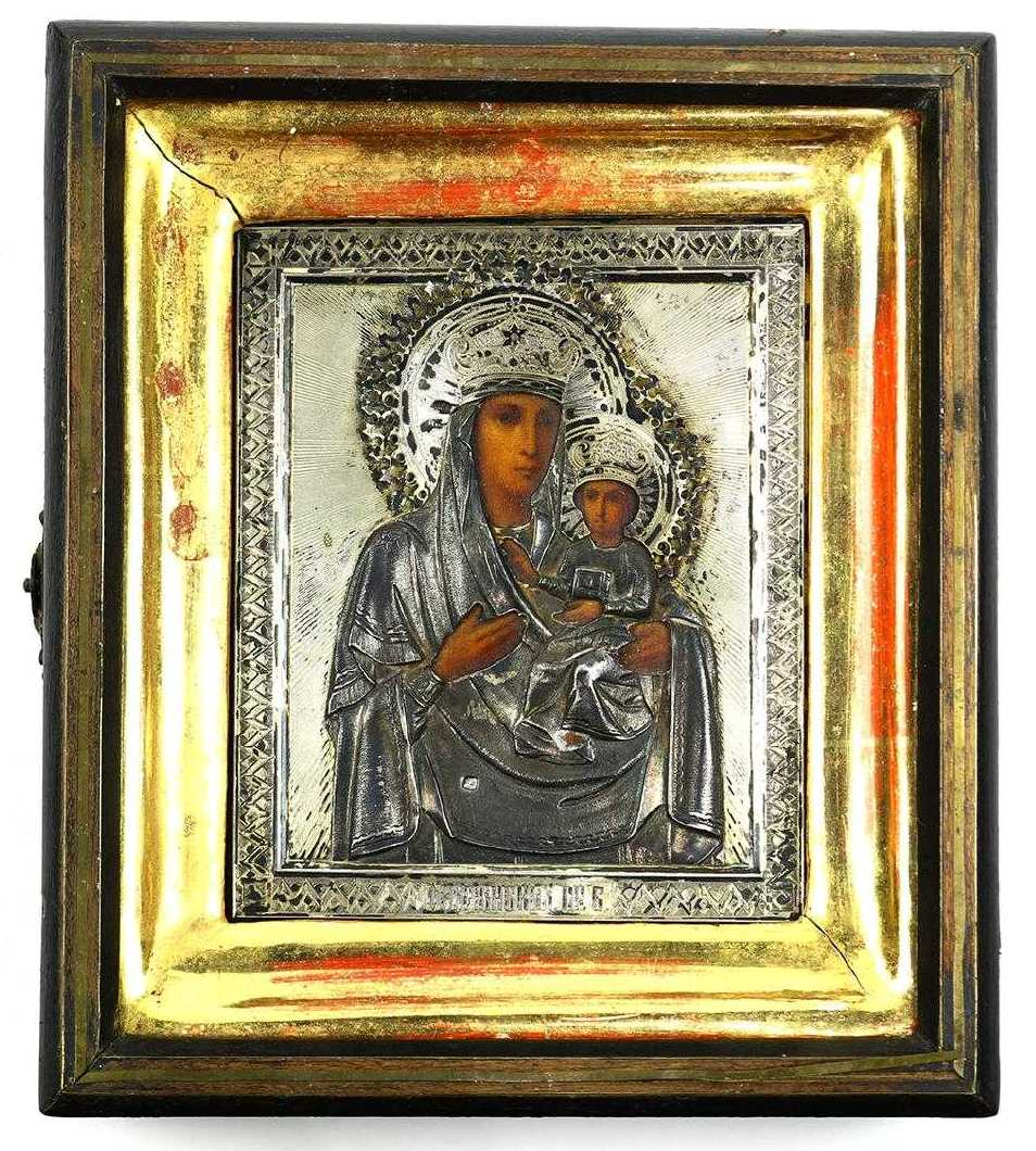 Russian Orthodox icons for sale; Russian icon of the Mother of God