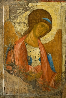 Saint Michael Icon by Andrei Rublev