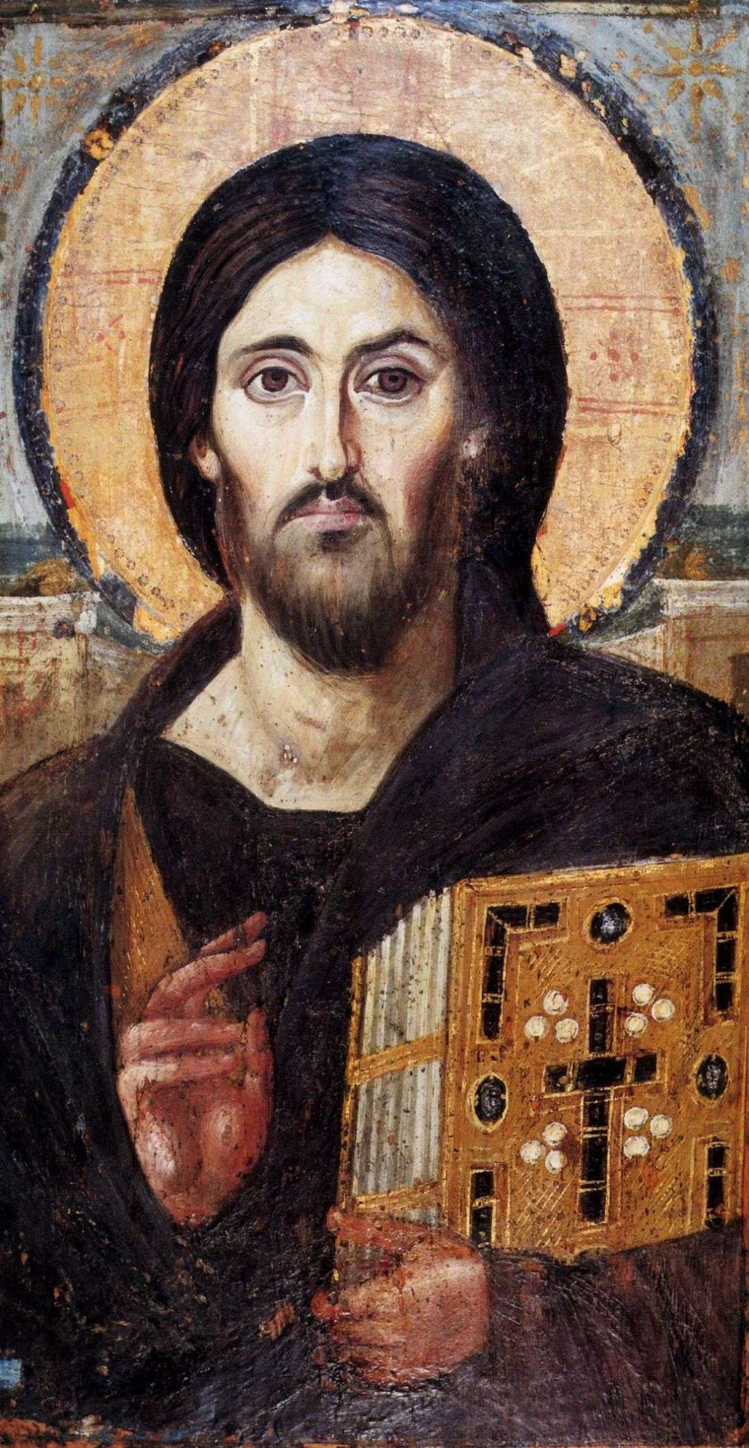 The Meaningful Jesus Icon from Mount Sinai