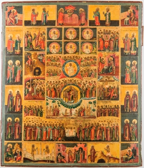The Monumental Orthodox Icons of the Hexahemeron