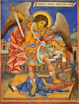 The History and Meaning of the St. Michael Icon