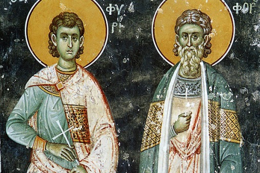 The Holy Martyrs Onesyphoros and Porphyrios