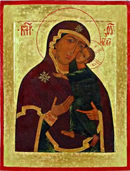 "Русские иконы - Russian Icons of the Mother of God ""Eleusa"""