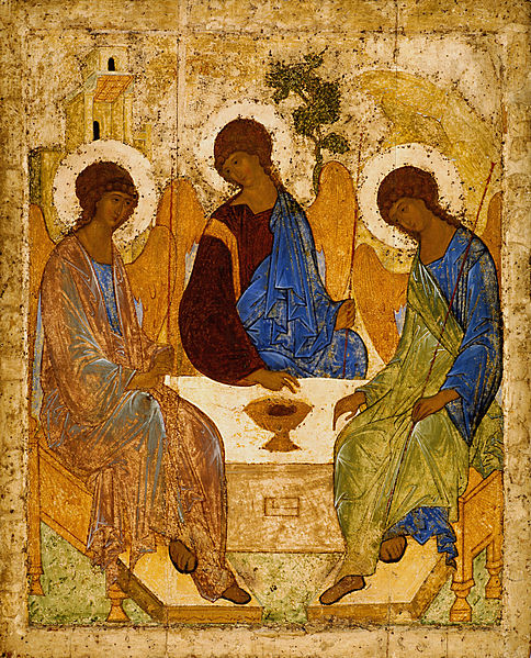 "Orthodox Icon in Russia: ""The Trinity"" By Andrei Rublev"