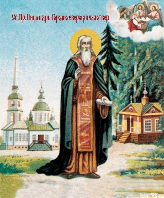 Venerable Nicander, Monk of Gorodnoezersk