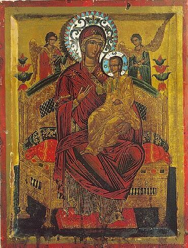 """Icon of the Mother of God """"Panagia Pantanassa"""""""