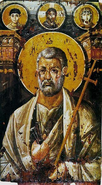 Icon of St. Peter from the St. Catherine's Monastery, 6th century