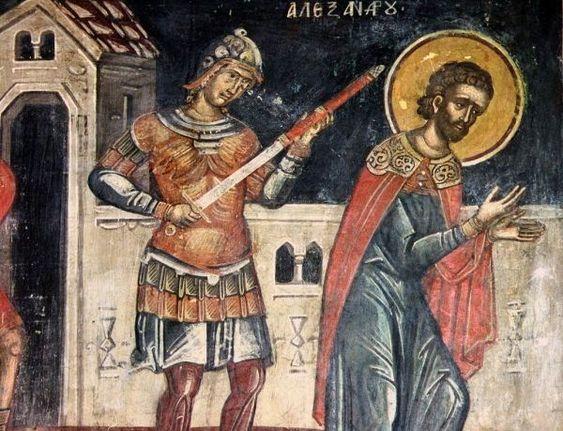 Hieromartyr Alexander of Side