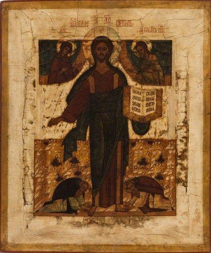 Russian icon of the Savior of Smolensk, 18th century