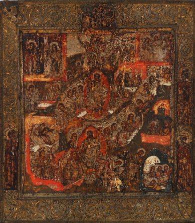 Icon of the Ascent and the Resurrection (18th century)