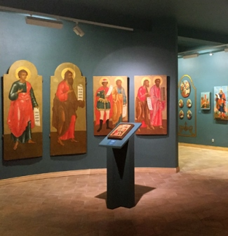 The Museum of Russian Icon in Moscow