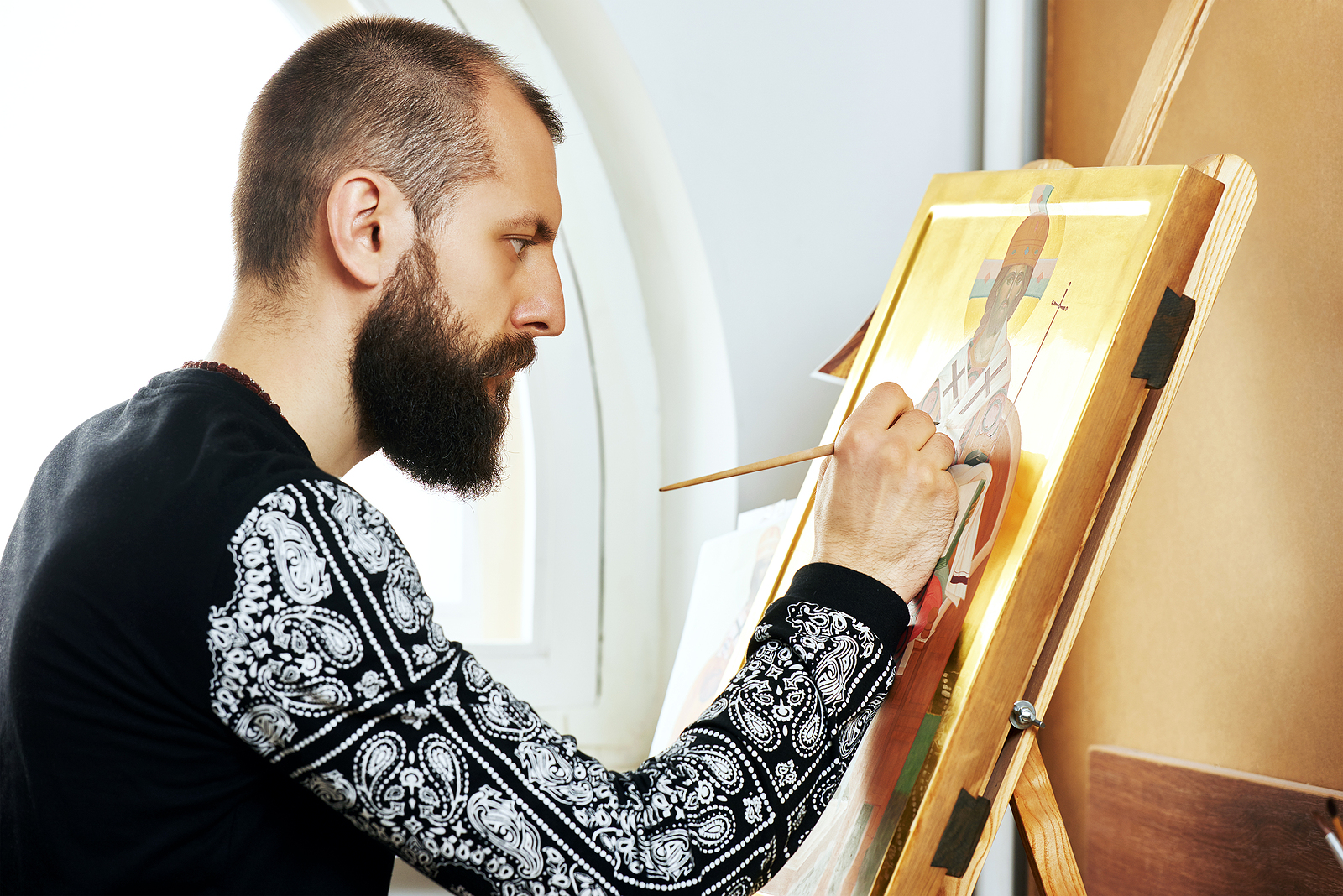 The Art of Hand-Painted Icons (Рукописные иконы)