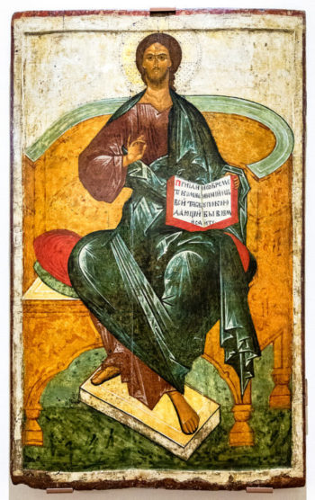 The Icon of Christ Enthroned