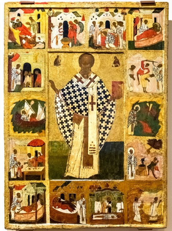 About the Importance of St Nicholas Icon