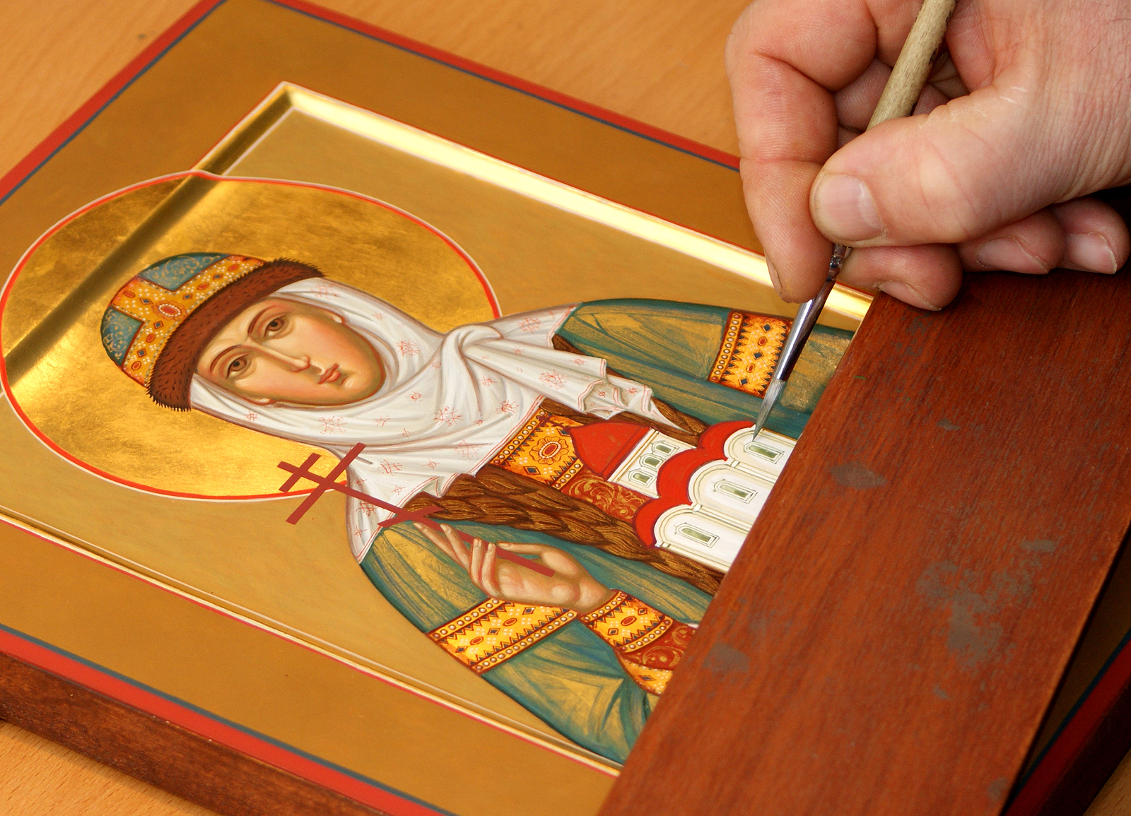 Workshops on Icon Painting at the Museum of Russian Icons